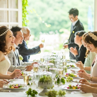 【10名45万円】家族式に!挙式、会食、写真、衣装の全部込プラン
