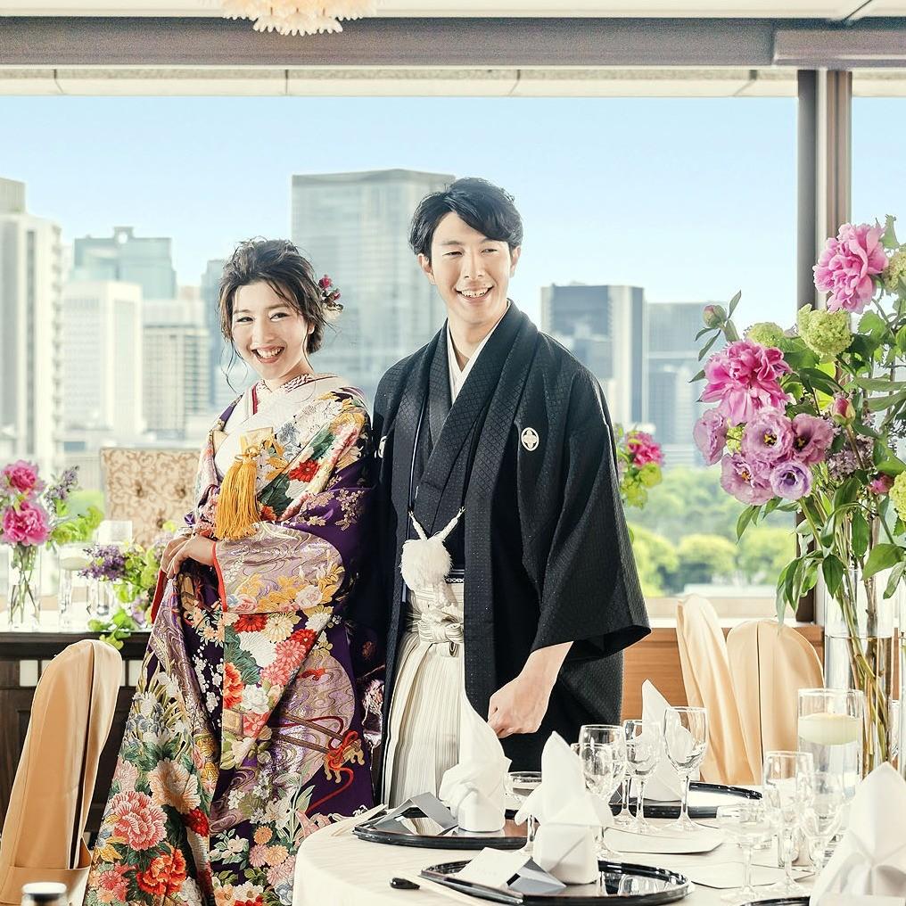 【和婚】ホテル神殿や神社挙式、チャペル&和装お色直し【試食】