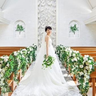 【結婚式がイメージできる】試食×ドレス試着&森のチャペル見学