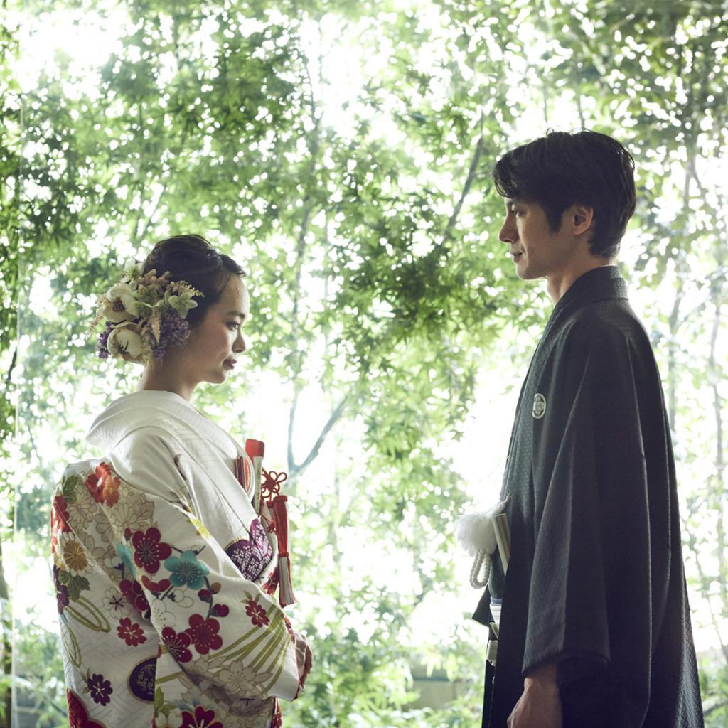 【人気和婚】国宝松本城&四柱神社徒歩2分◆有形文化財の上質W