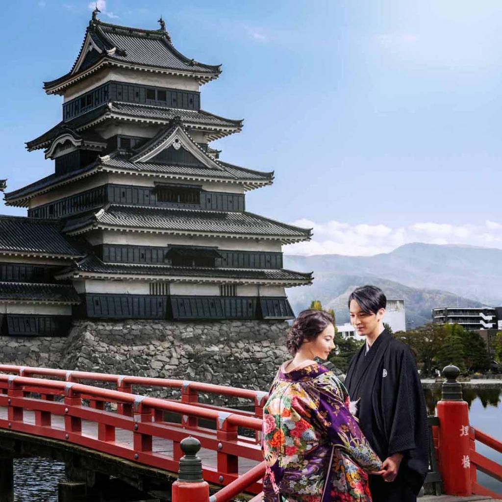 【和婚】松本城&四柱神社は徒歩圏内◆花嫁行列体験×BIG特典