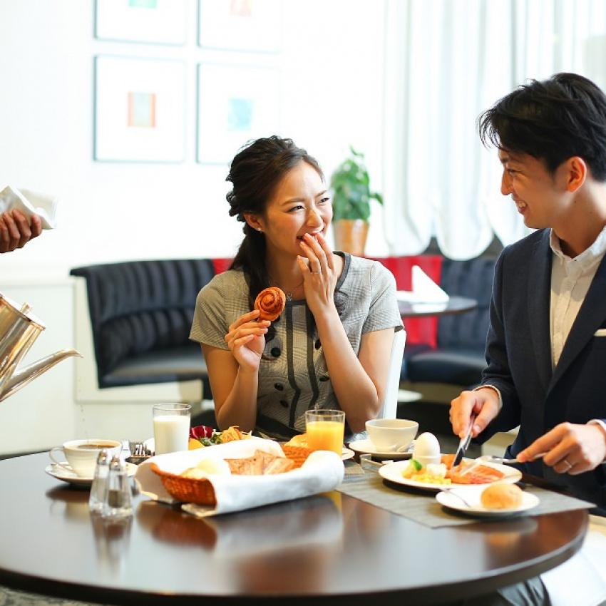 【朝イチ限定】大好評の朝食ビュッフェ付きウエディング相談フェア