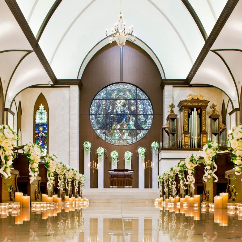 【本格的な大聖堂を体感】挙式体験&会場見学&試着会