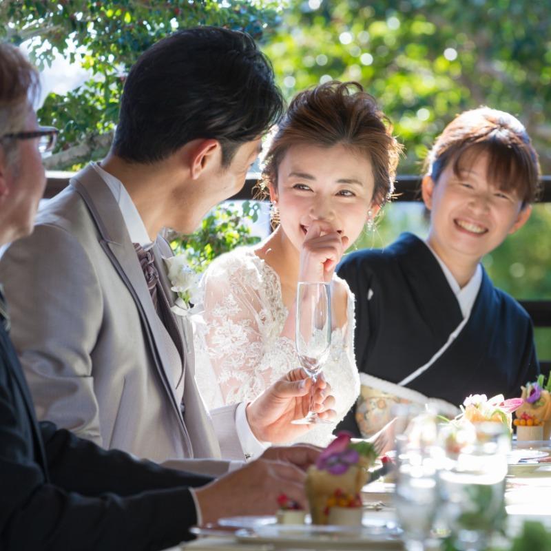 【家族での結婚式ならこのフェアへ】豪華試食&しっかり見学会
