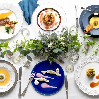 【各ゲストが料理を選べる】ゲスト満足度◎コース×挙式体験