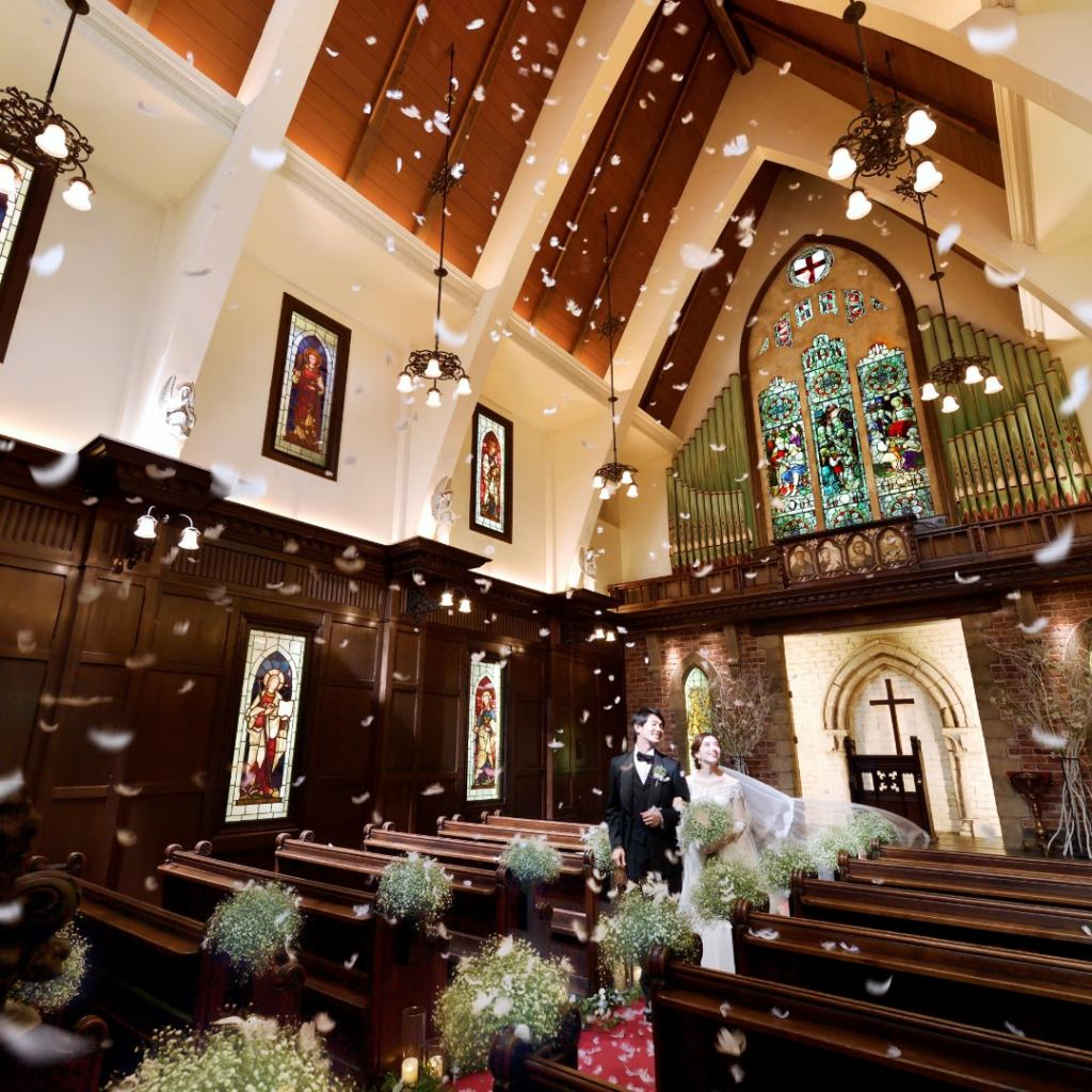 St.George教会入場体験&ドレス試着&和洋食べ比べ体験