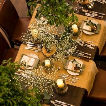 【ゲストへのおもてなしが伝わる】テーブルコーディネートフェア