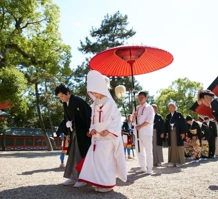 【住吉婚本番チェック!】花嫁行列・披露宴会場必見フェア