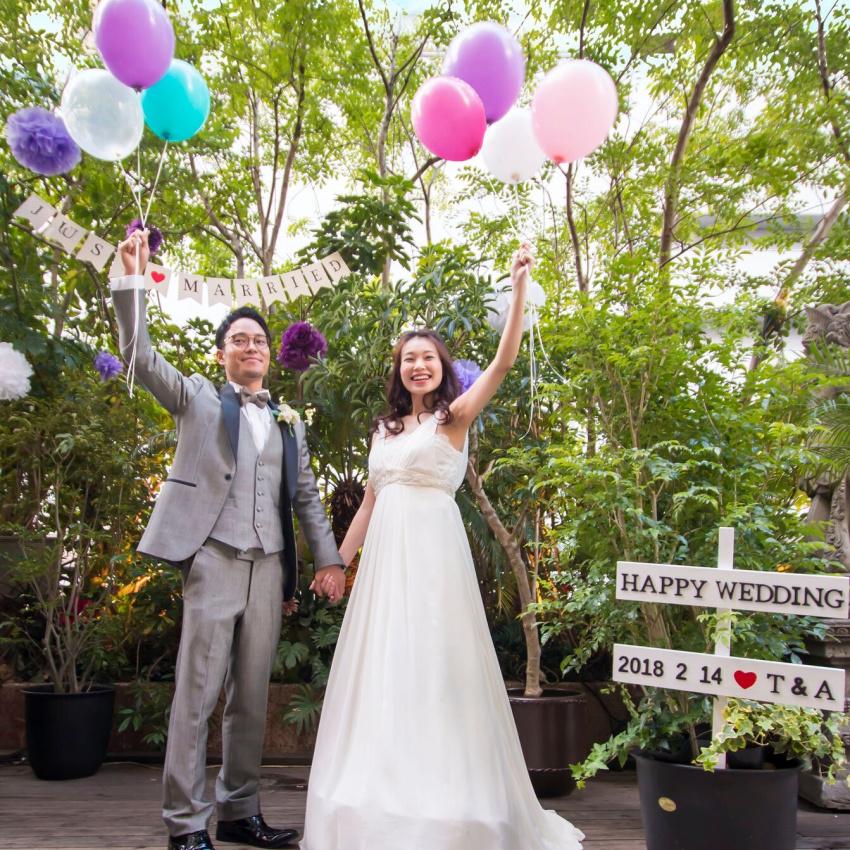 予算重視のおふたりへ【結婚式まるわかりフェア】