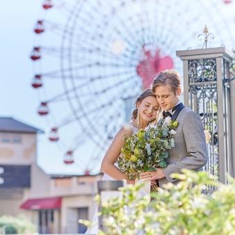 """【ハーバーランドの中心で叶う!】""""神戸らしい″Wedding体験"""