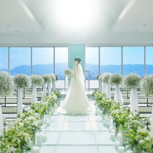【スカイチャペルで感動体験フェア♪】世界遺産姫路城を一望!