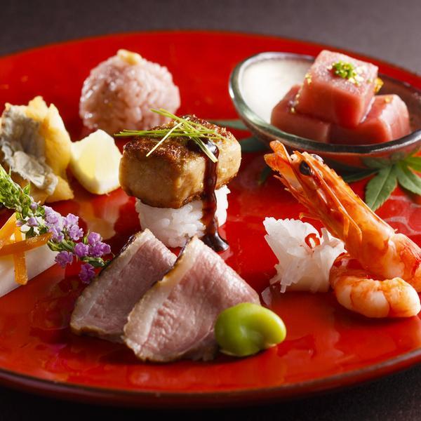 お料理重視の方必見★炙り神戸牛✕フォアグラ寿司試食フェア
