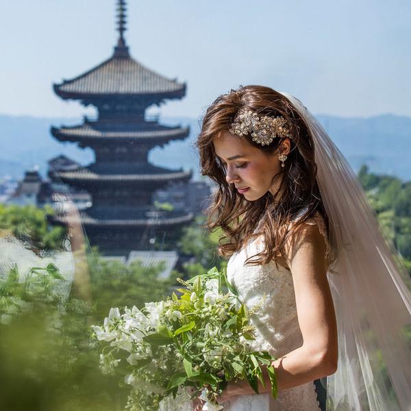 【卒花満足度No.1】八坂の塔を望むチャペルで挙式体験試食