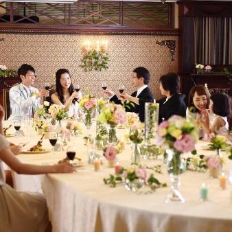 30名以下の結婚式をお考えの方へ〈家族のみ・少人数W相談会〉