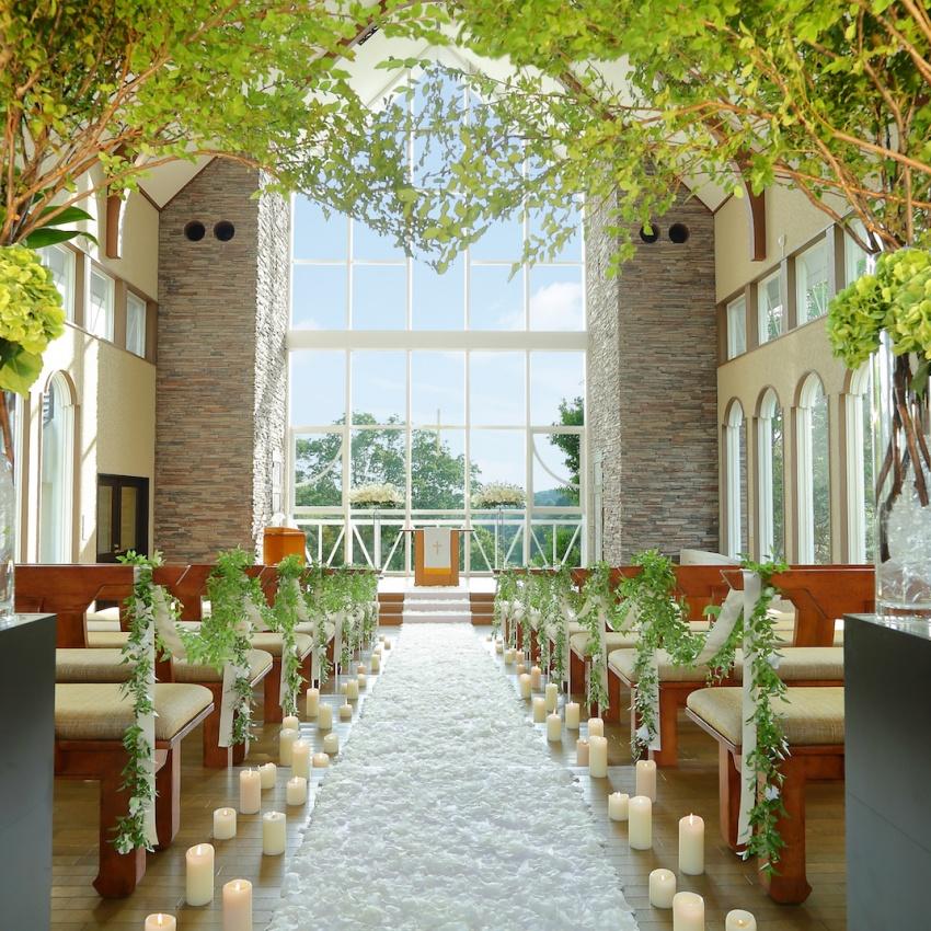 広島で叶う非日常のリゾートW大相談会|石造り森の教会&試食付