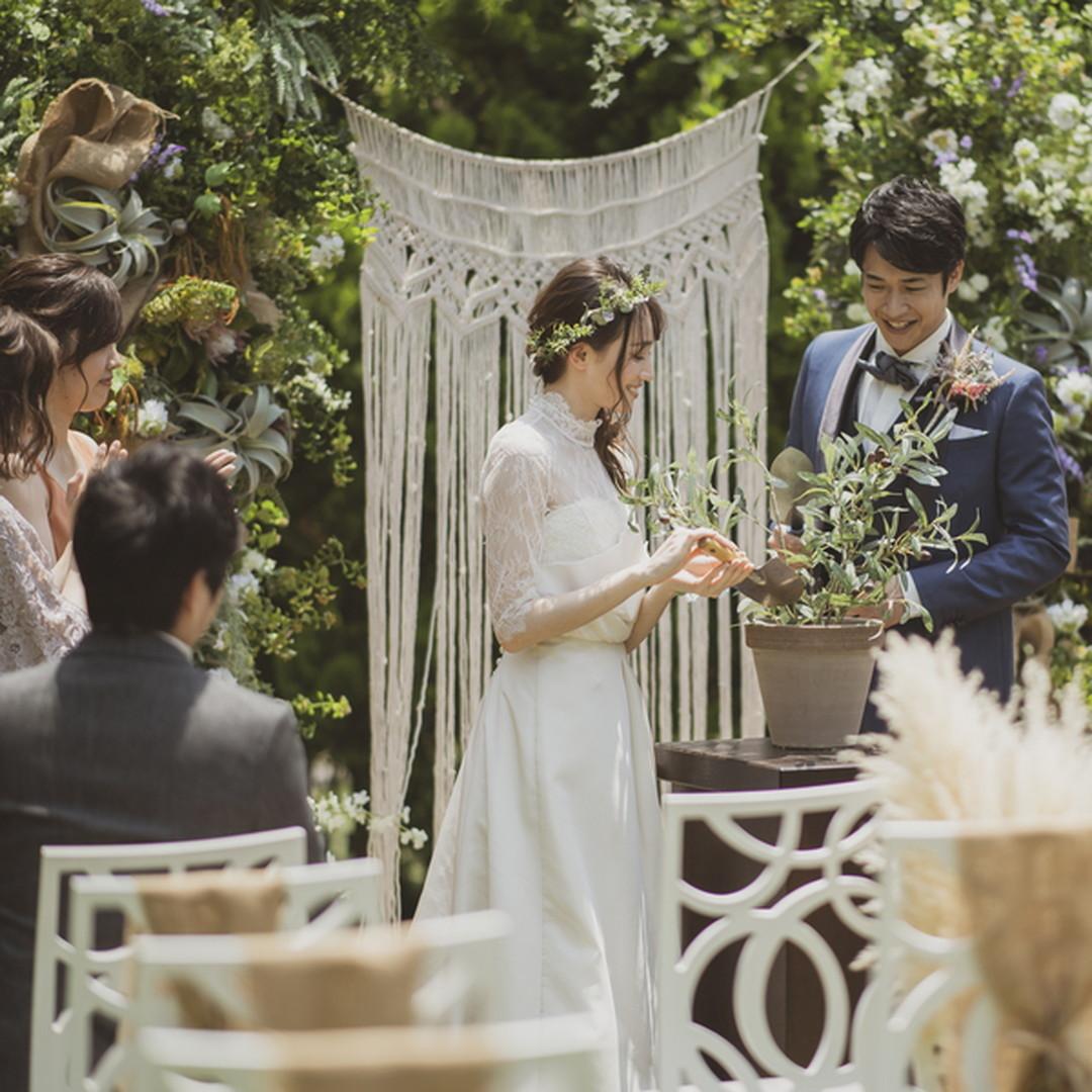 【卒花満足度No.1】フレンチ試食&ガーデン挙式体験フェア♪
