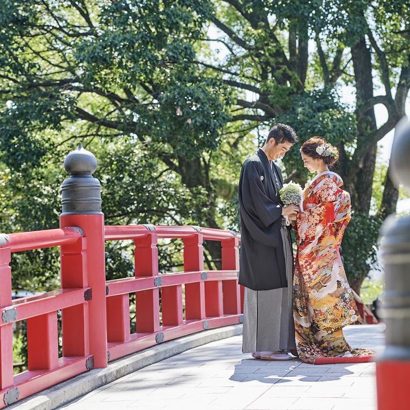 【前撮り25万円特典】和装もドレスも映える!天空チャペル体験