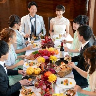 【少人数2名~OK!】★個別対応で安心★家族挙式&会食相談会
