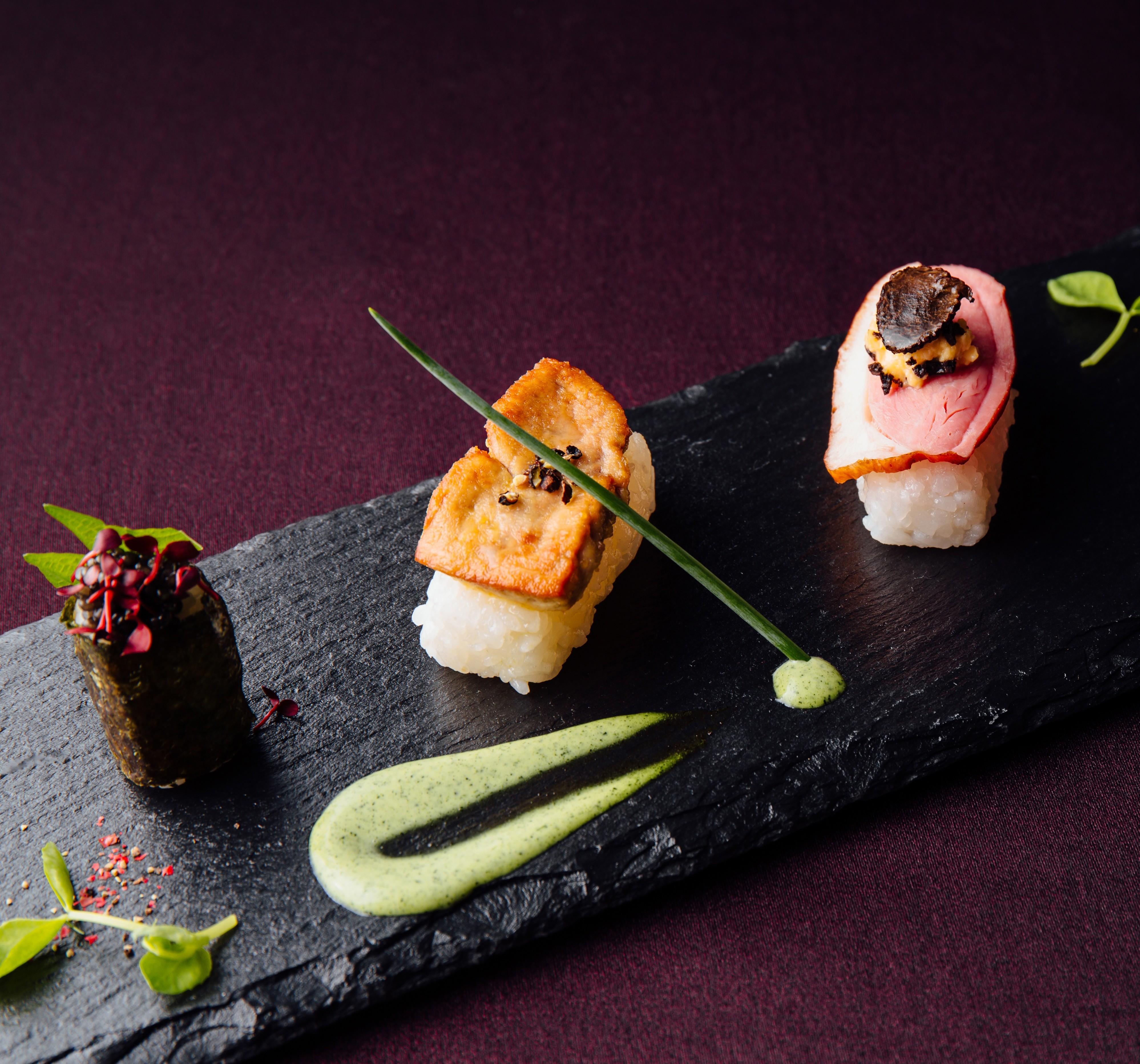 【挙式体験】世界三大珍味寿司試食×アクセス×豪華特典付フェア