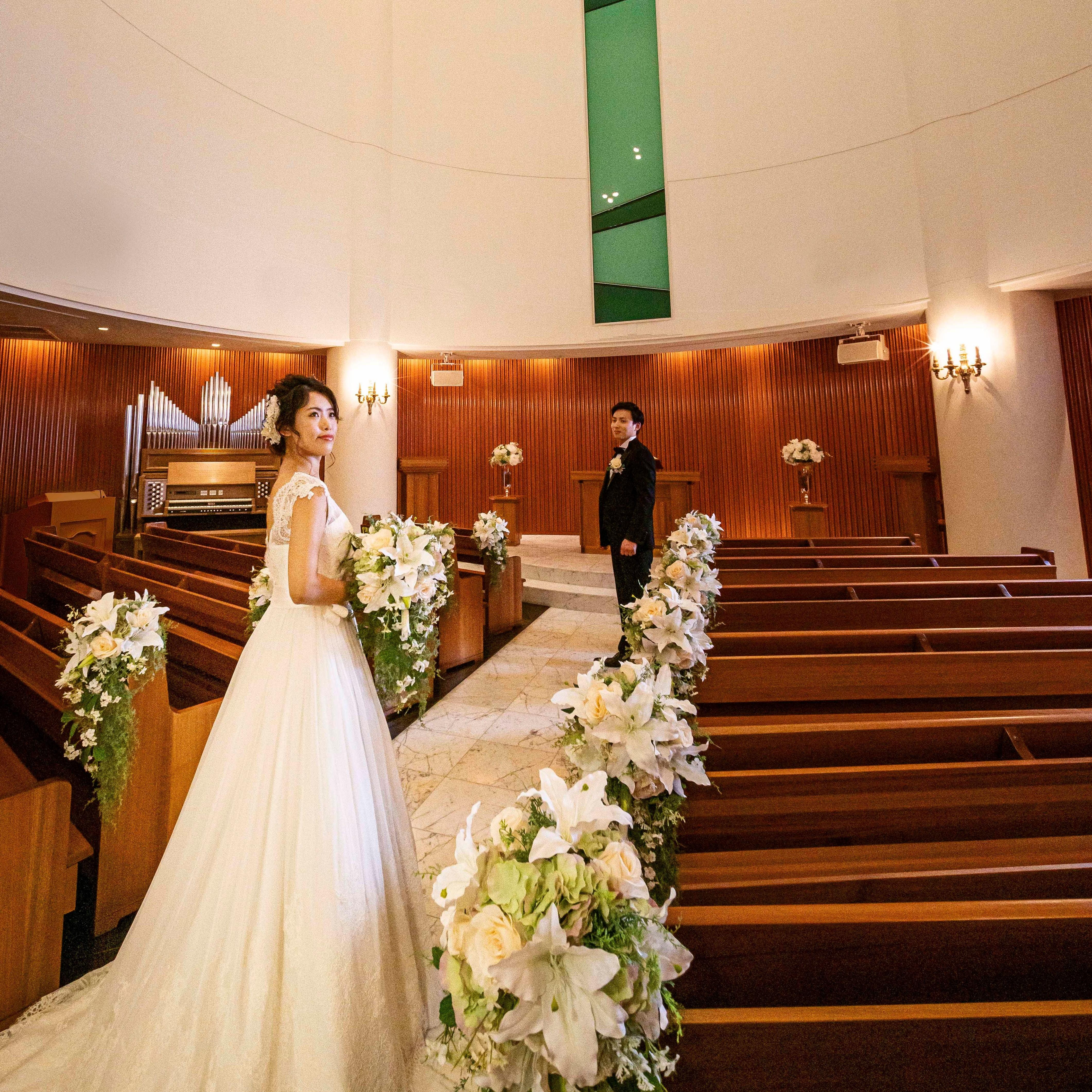 【シンプル婚】挙式+会食が可能◆少人数対応の会場有◆さらに眺望◎◆特典付◆