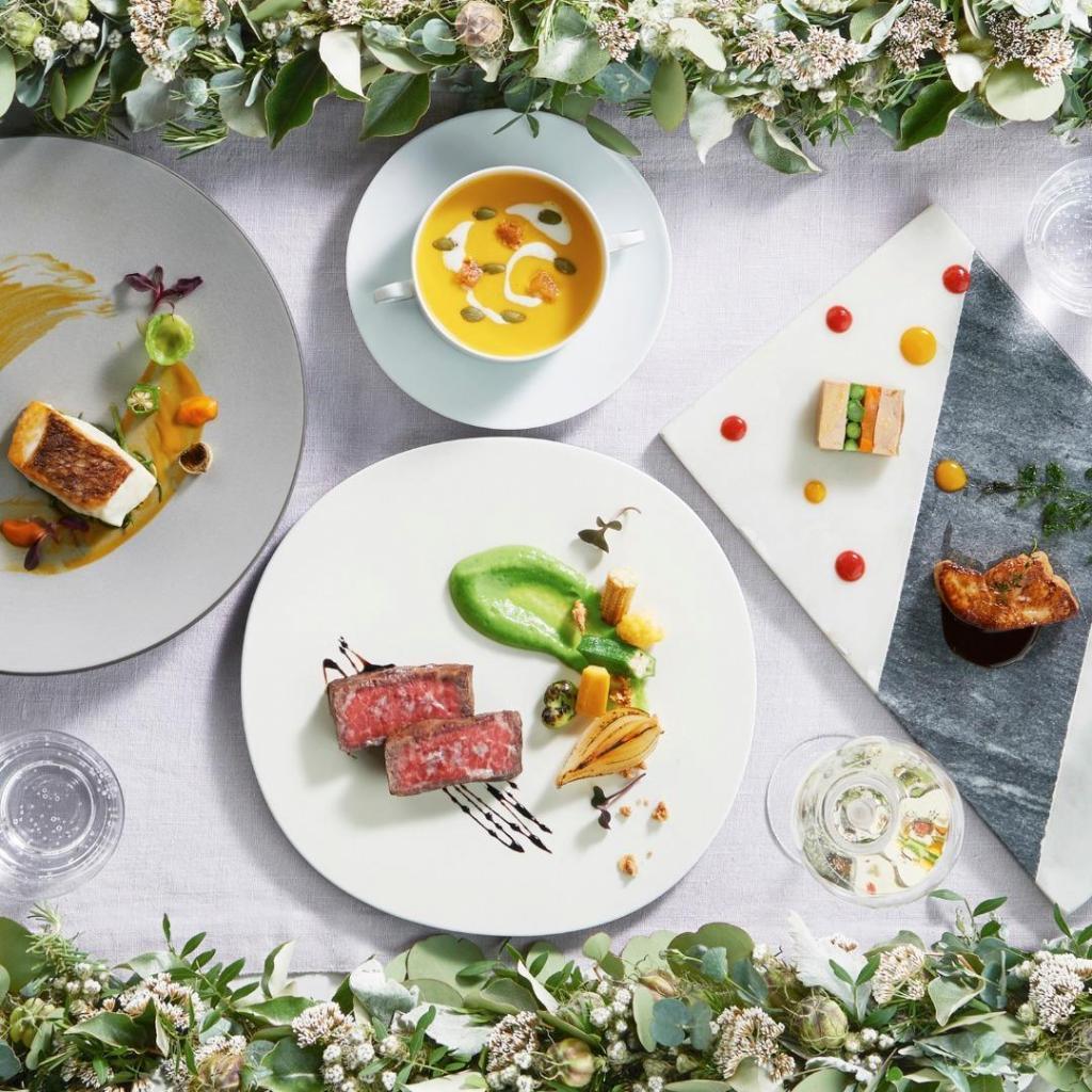【月1BIG*特典】緑溢れるチャペル&ガーデン体験×贅沢試食