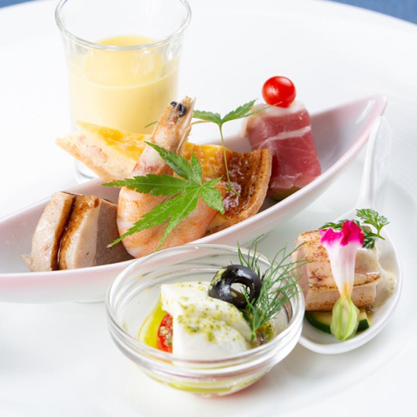【週末3組限定】旬の食材使用の豪華料理を食べ尽くしフェア♪