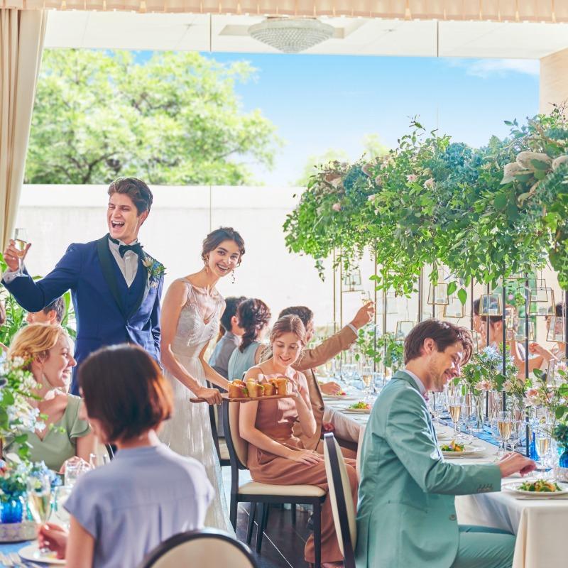 ◆ご見学初めての方へ◆安心相談会×欲張り花嫁体験!試食付♪