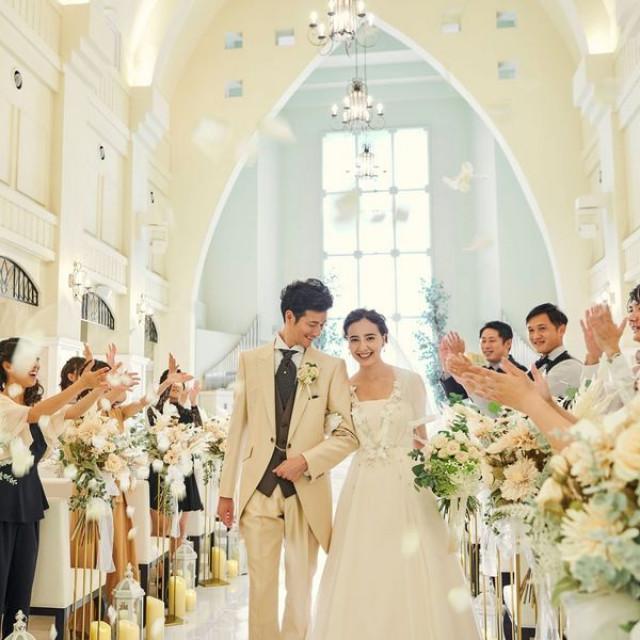 【挙式料プレゼント】先輩花嫁が一目惚れしたチャペル体験フェア